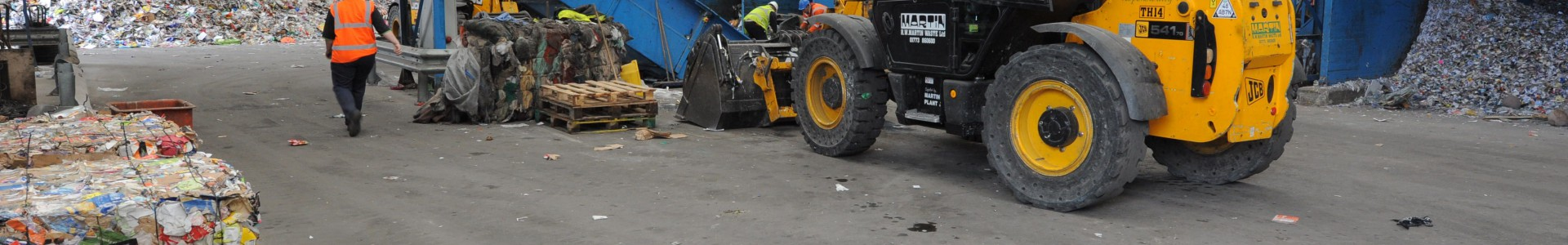 A Premier Waste materials recycling facility (MRF.)