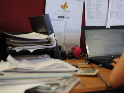 Office and commercial waste and recycling.