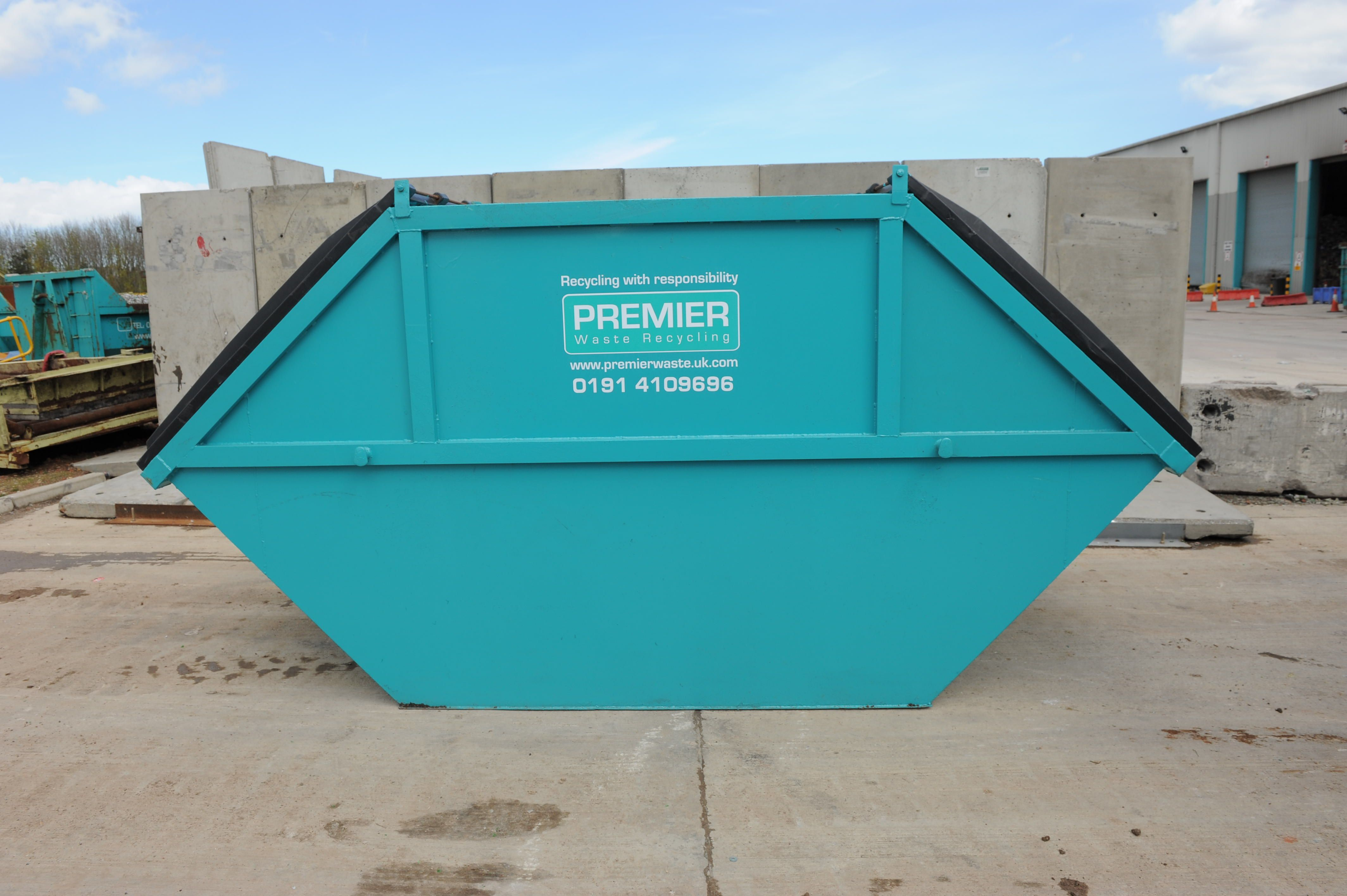 Enclosed Skips Premier Waste Recycling Ltd