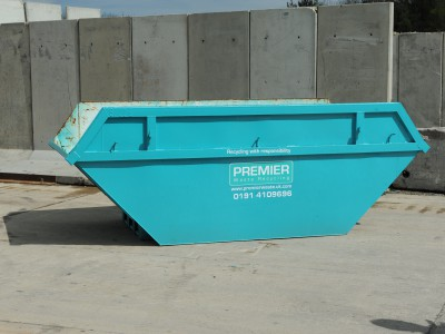 One of our open skips.